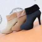Boot Heels Wanita AD03 Keren Trendy