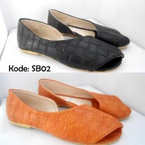 Ready Stock Flat Shoes Daun SB02 Murah