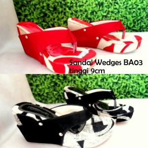 Sandal Wedges BA03 Sandal Wanita