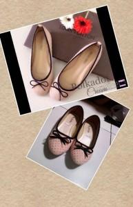 Selena Flat Shoes Sepatu Cewek  Cream