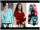 Kaos Jumper V Basic Knit Polos