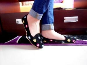 Venus Flat Shoes Bahan Suede Sepatu Wanita