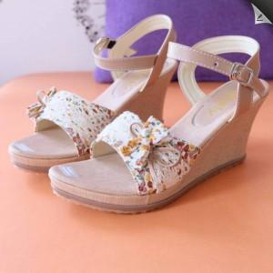 WEDGES JB01 Sepatu Sandal Wanita Cantik