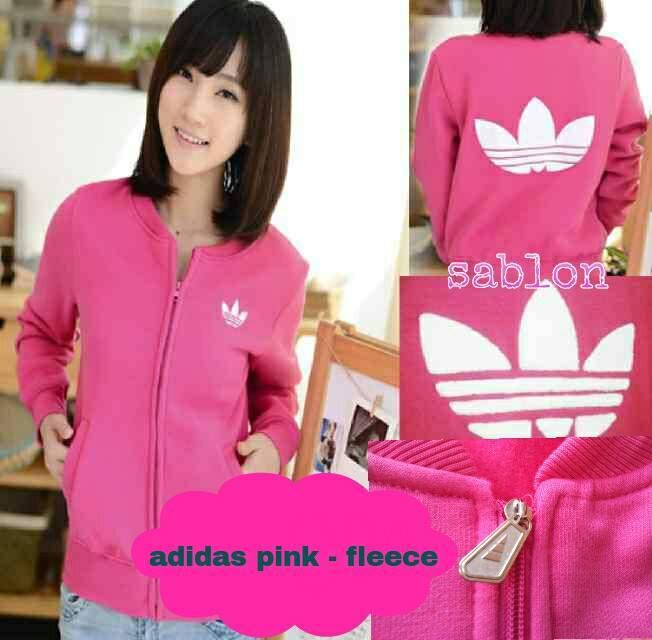 Supplier Adidas Pink Fleece Berkualitas Gambar 1