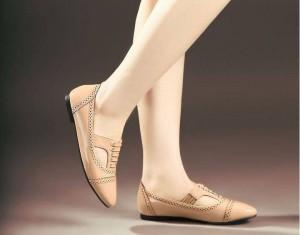 Flat Shoes Sepatu Cewek KD21 Hitam & Mocca