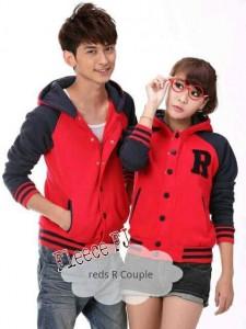 Red R Couple FJ Jaket Remaja Romantis