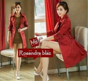 Rosandra Blazer Cewek Cantik Merah
