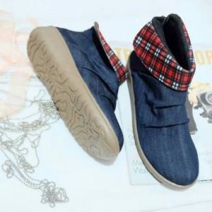 Sepatu Boots JKT48 Sepatu Cewek Trendy