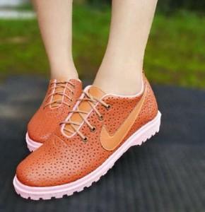 Supplier Sepatu Kets Casual Docmart PN026 / PN26 Grosir Warna Coklat