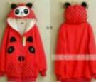 Jaket Cewek Volkadot Bear Series Red Beautiful