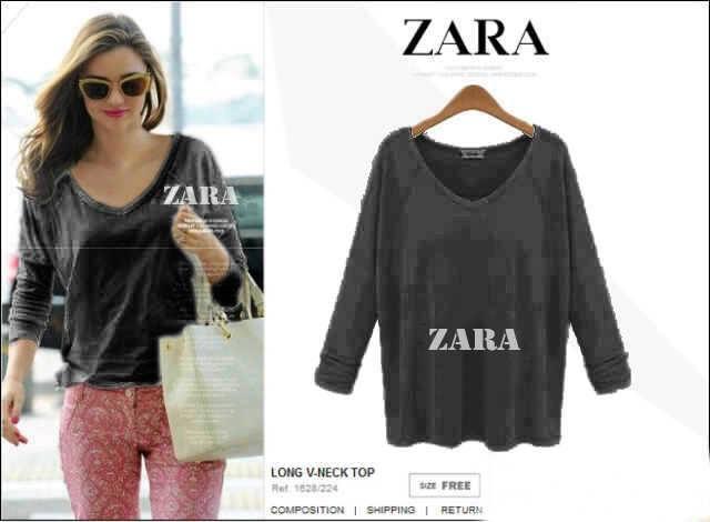 Supplier Zara Black Blouse Asli Foto 1