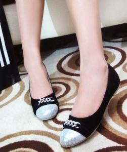 Flat Shoes YM15 Trendy Casual Sepatu Kerja